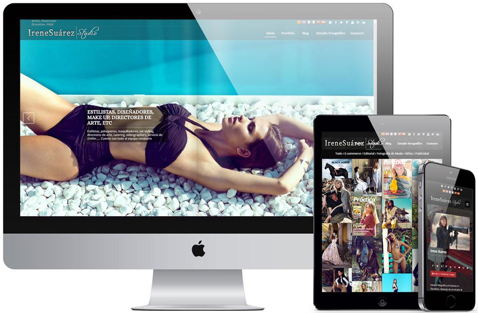 Web Corporativa IreneSuarez.com